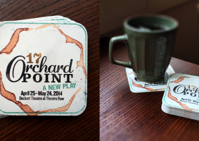 17 Orchard Point Event Coasters