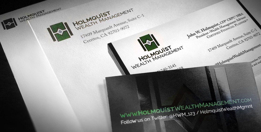 Holmquist Wealth Management Corporate Identity Package